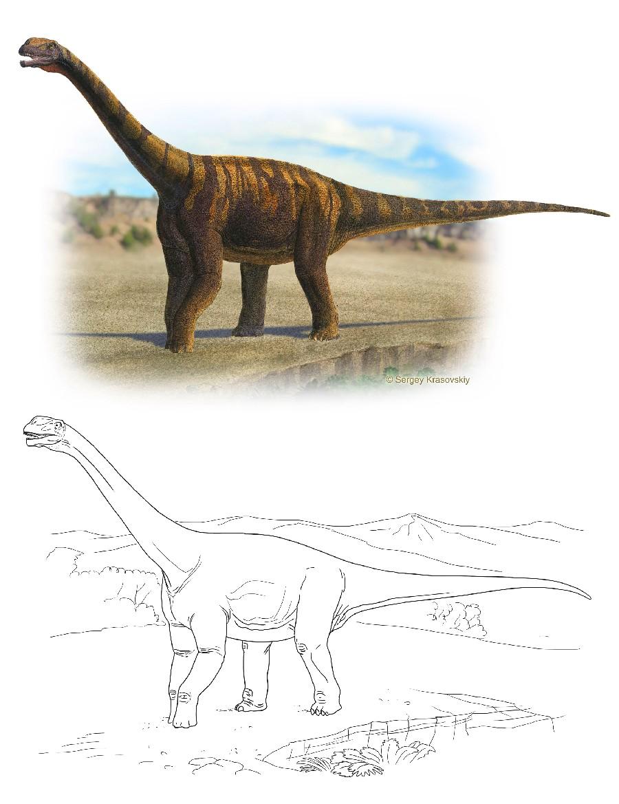 Abrosaurus (возм: аброзавр), Jurassic (Юрский период)