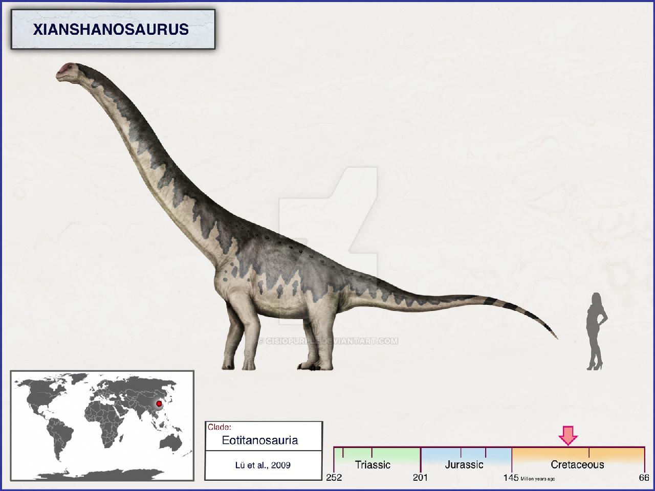 Xianshanosaurus