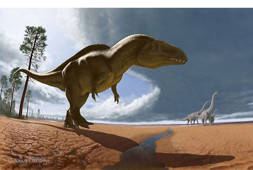Acrocanthosaurus (Акрокантозавр), Early Cretaceous (Нижний мел)