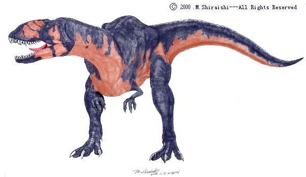 Abelisaurus (возм: абелизавр), Cretaceous (Меловой период)