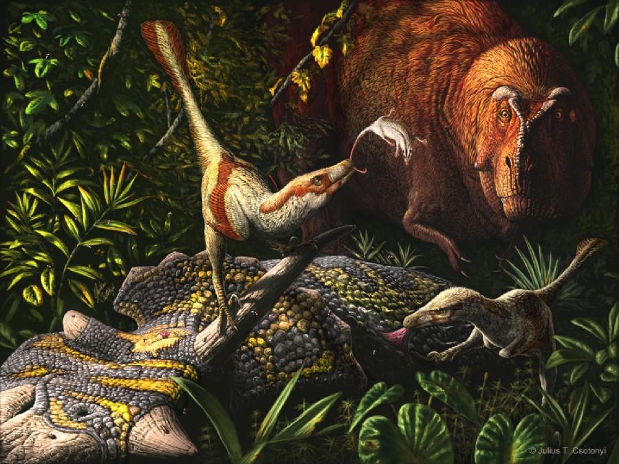 Acheroraptor, Late Cretaceous (Верхний мел)