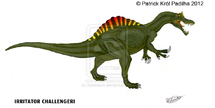 Irritator irritator pictures & facts - the dinosaur database