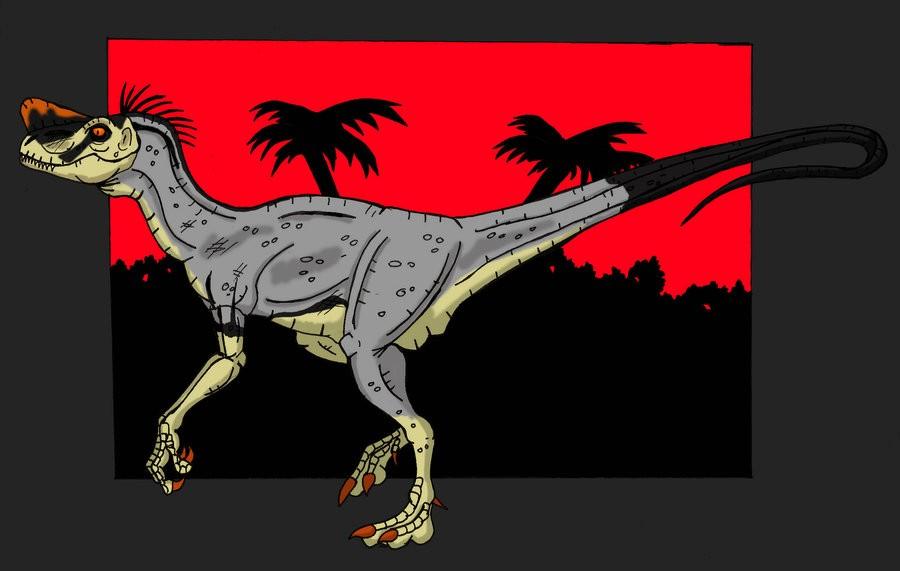 velociraptor painting related keywords - photo #14