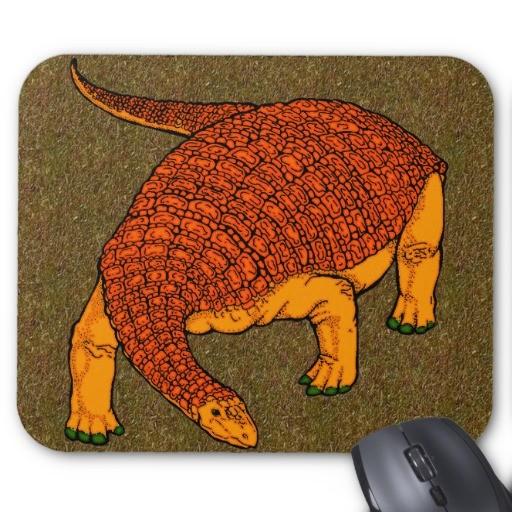Source : www.zazzle.com/nodosaurus_mouse_pads-144161756245637327